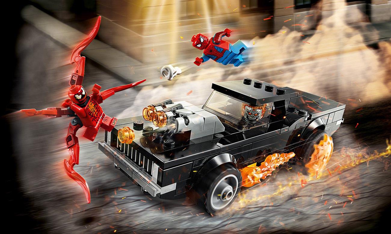 LEGO Marvel Spider-Man i Upiorny Jeździec kontra Carnage