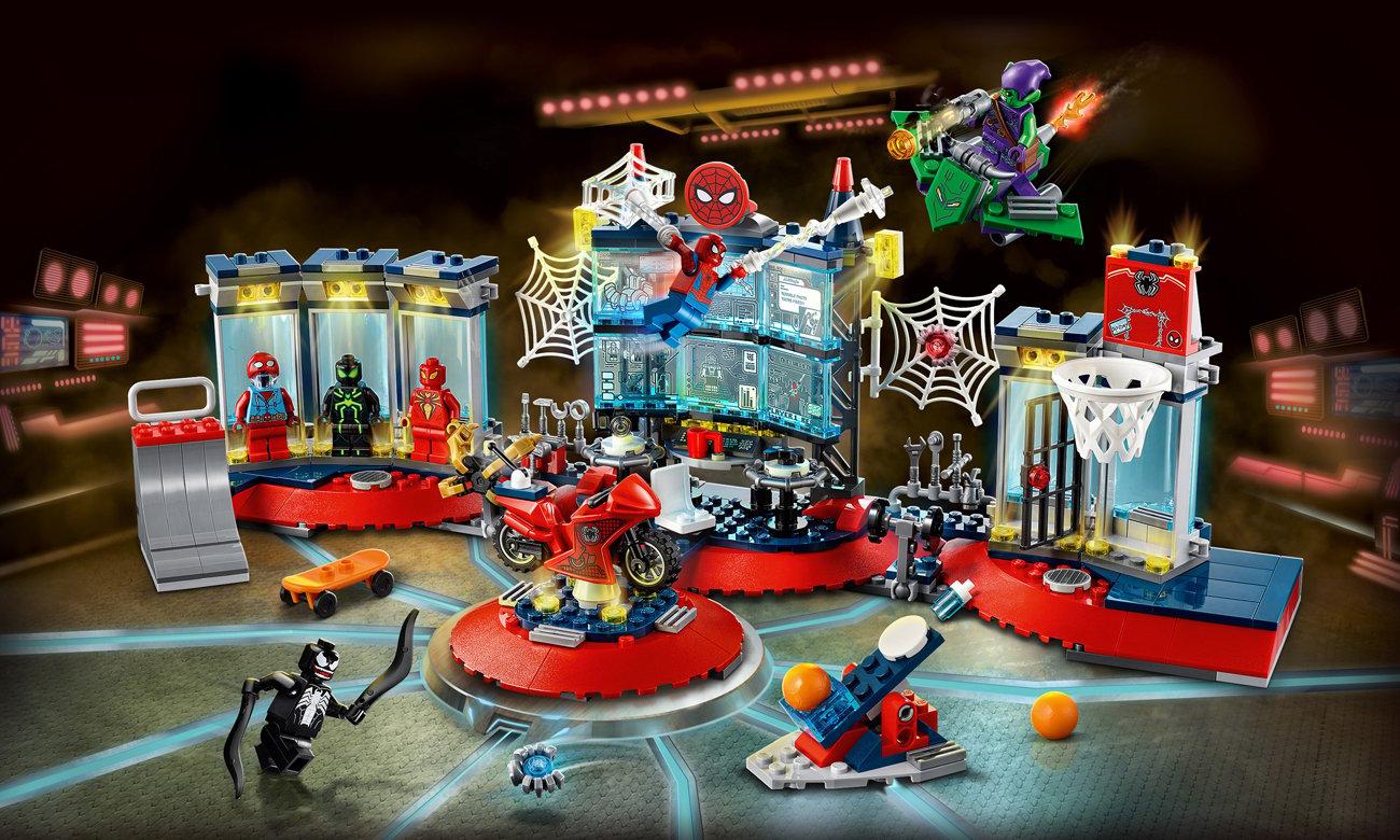 LEGO Marvel Atak na kryjówkę Spider-Mana