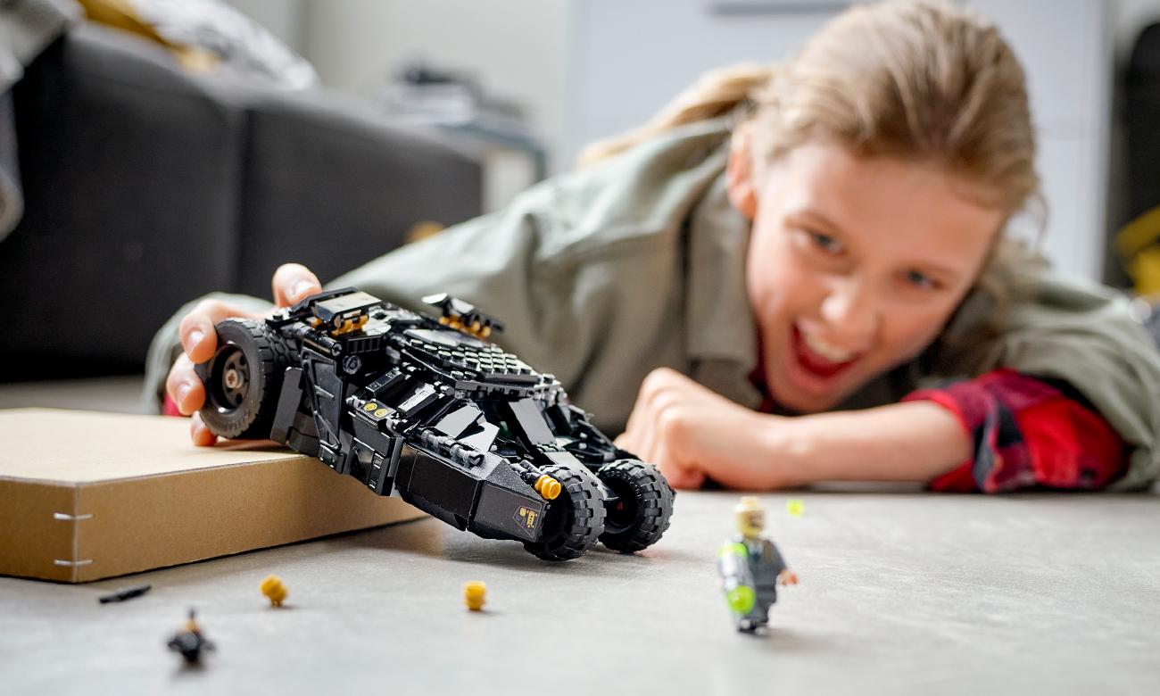 batmobil z klocków lego