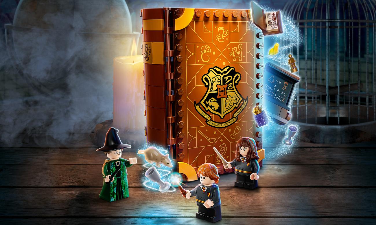 LEGO Harry Potter Chwile z Hogwartu: zajęcia z transfiguracji