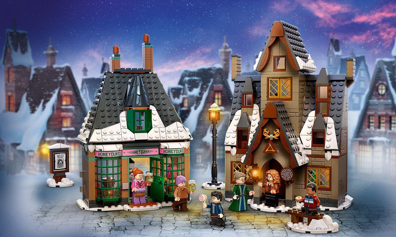 LEGO Harry Potter Hogwart: spotkanie z Puszkiem