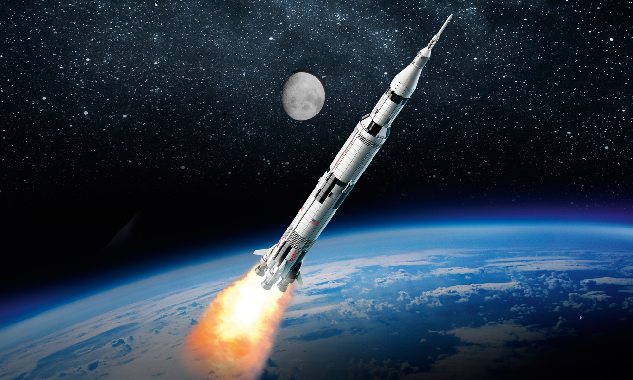 LEGO Rakieta NASA Apollo Saturn V - Klocki LEGO® - Sklep internetowy - al.to