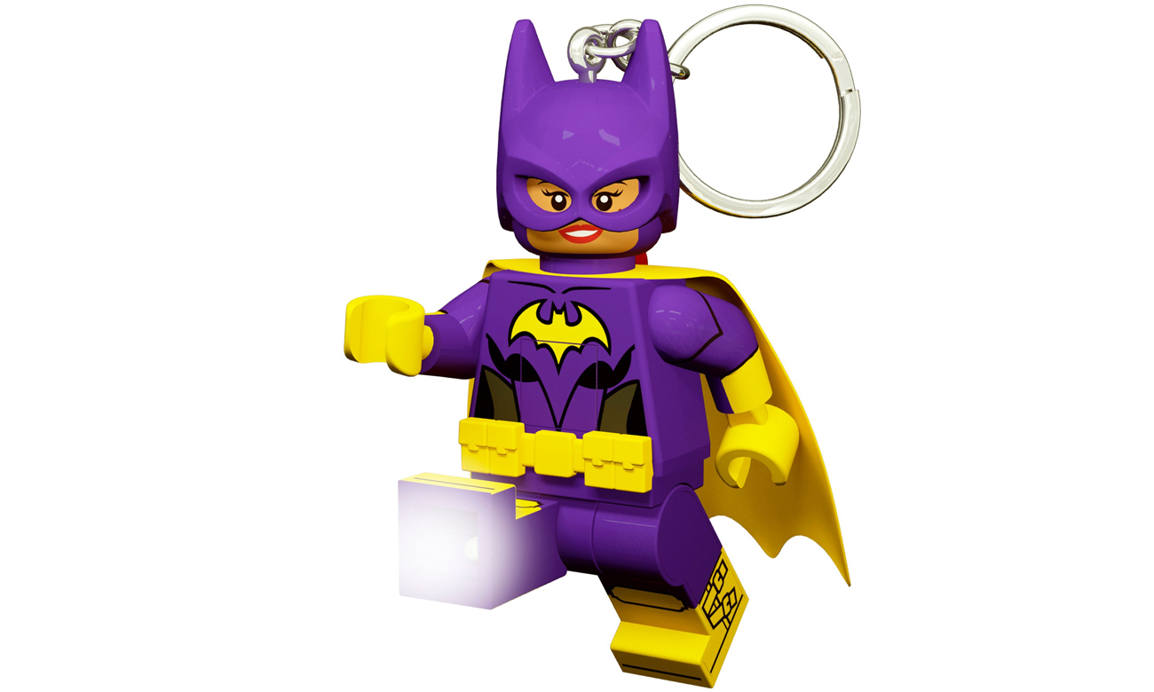 LEGO BATMAN MOVIE Brelok świecący Batgirl