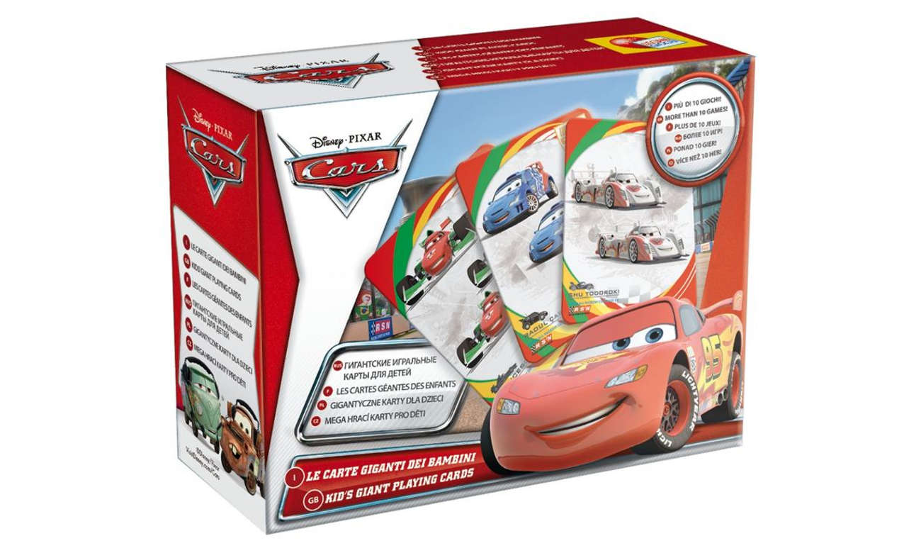 Lisciani Giochi Disney Karty do gry CARS 2 304-35373