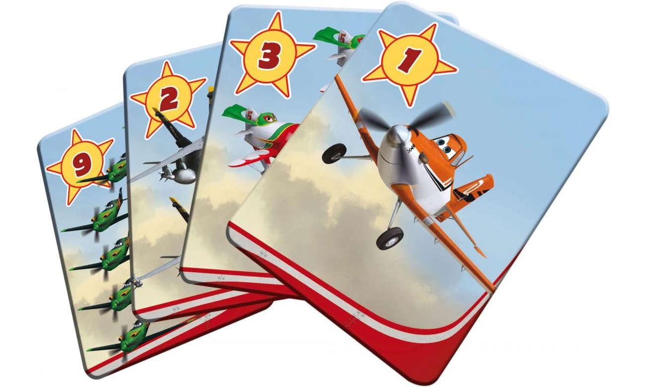 Lisciani Giochi Disney Karty do gry Samoloty 304-42777