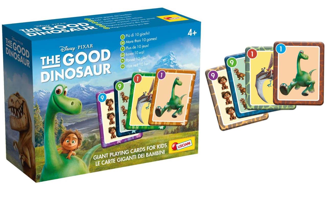 Lisciani Giochi Disney karty do gry Dobry Dinozaur 304-52783