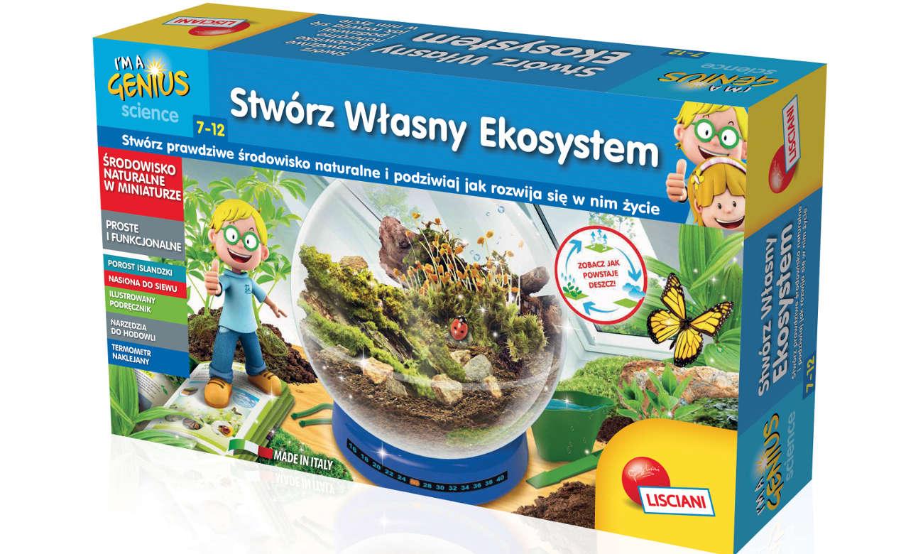 Lisciani Giochi Mały Geniusz Stwórz ekosystem 304-PL57689