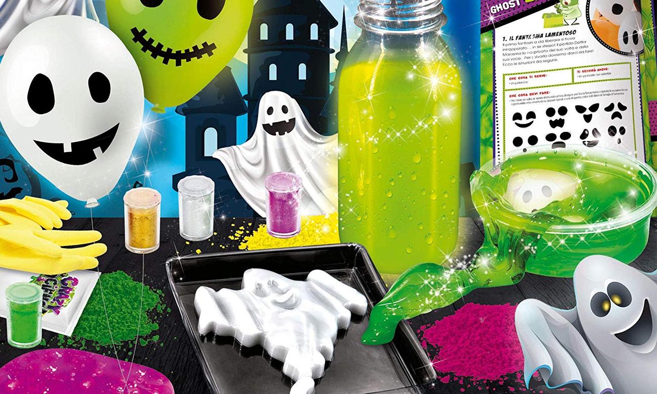 Lisciani Giochi Crazy Science Laboratorium przerażających duchów