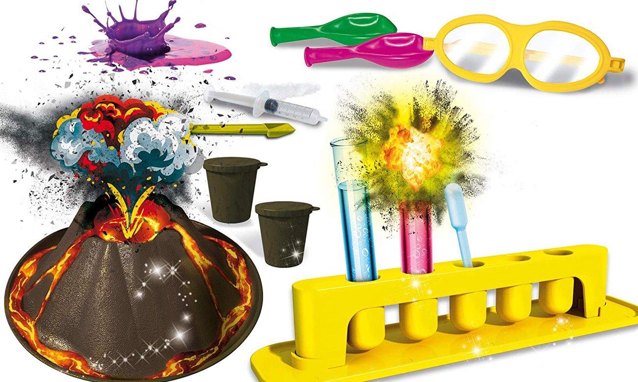 Lisciani Giochi Crazy Science Laboratorium wybuchowych eksperymentów