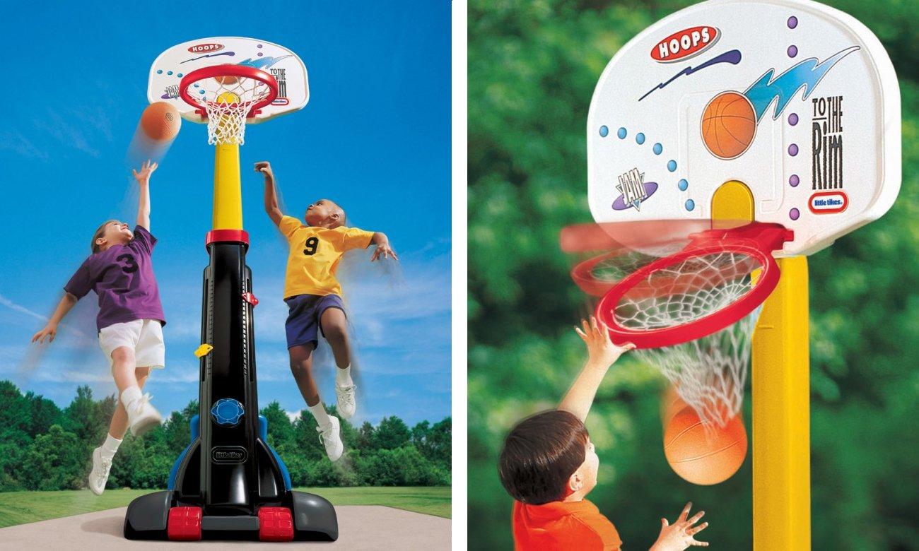 little tikes koszykówka rosnąca z dzieckiem