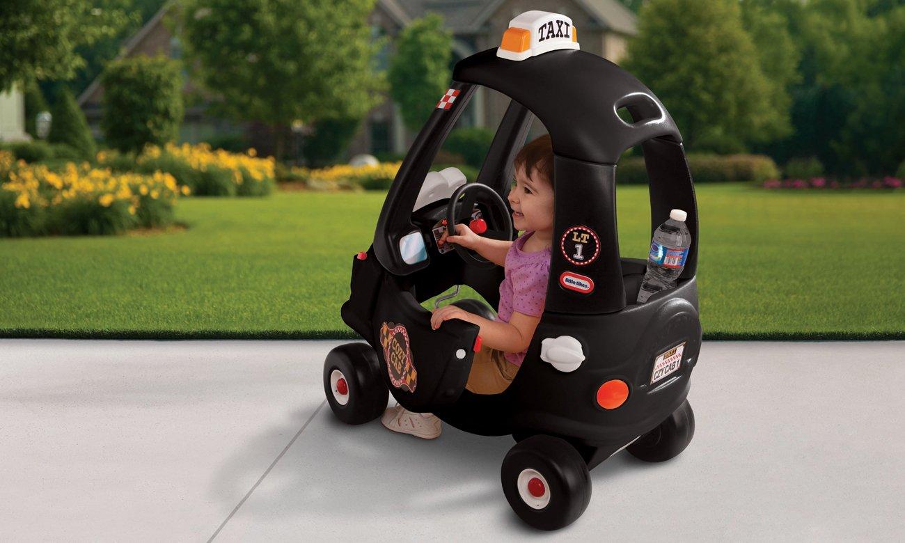 Little Tikes Jeździk Cozy Coupe taksówka czarna 0050743172182