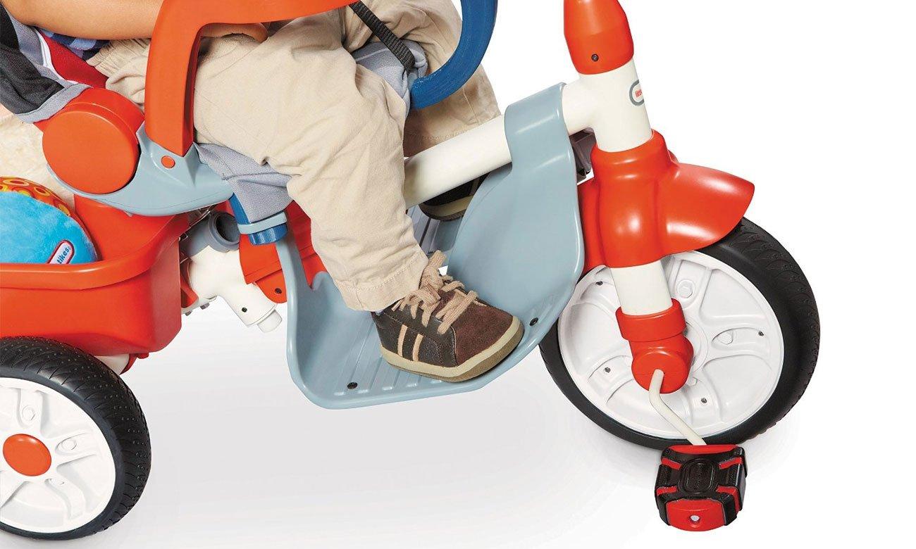 Little Tikes Rowerek Trójkołowy Deluxe Ride 5w1 pomarańczowy