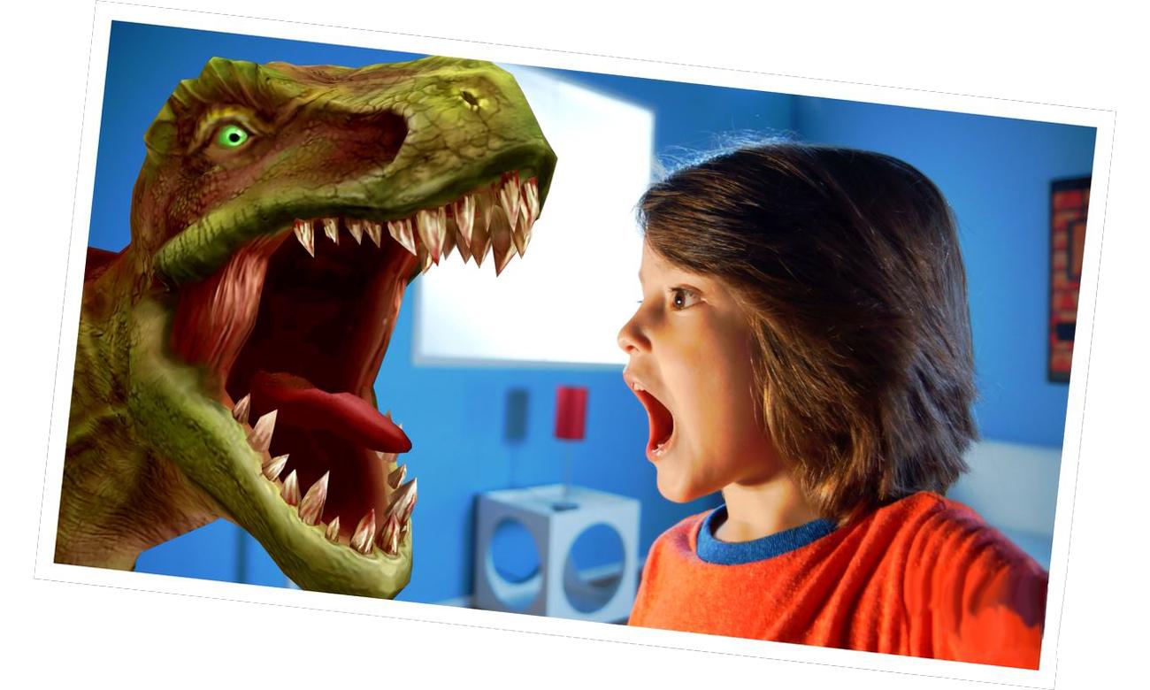 zestaw dinozaurów do zabawy