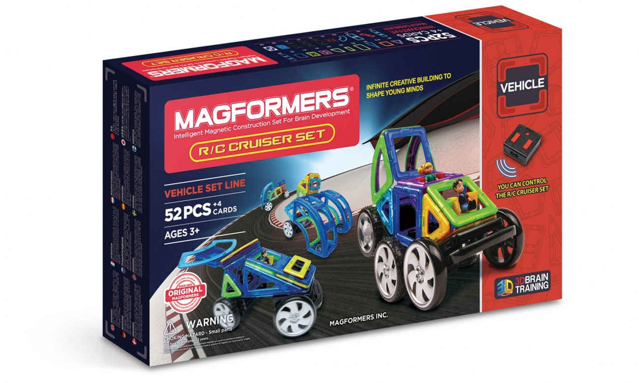 Magmorfers Vehicle R/C Cruiser zestaw akcesoriów