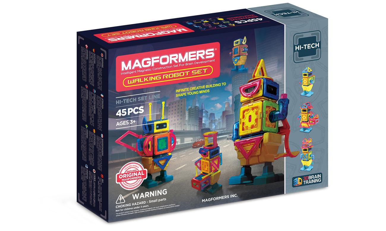 Magformers Walking Robot 45 elementów