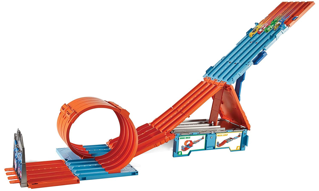 Trasa A Hot Wheels Track Builder Mega Tor FTH77