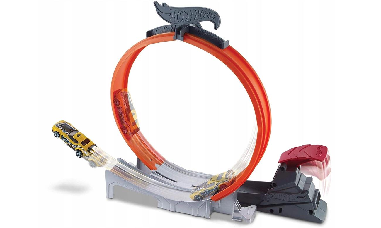 Mattel Hot Wheels Zakręcony Skok