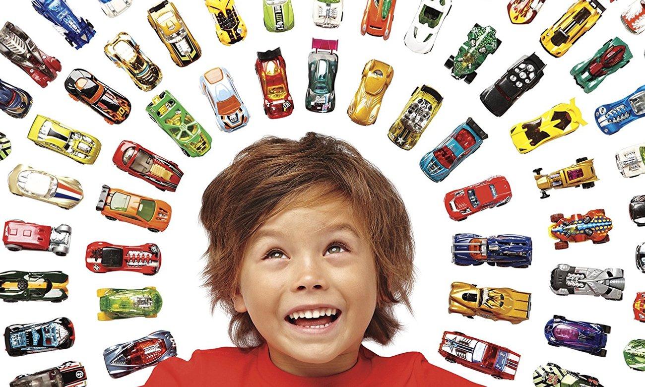 Mattel Hot Wheels Samochodziki 10-pak losowe pojazdy