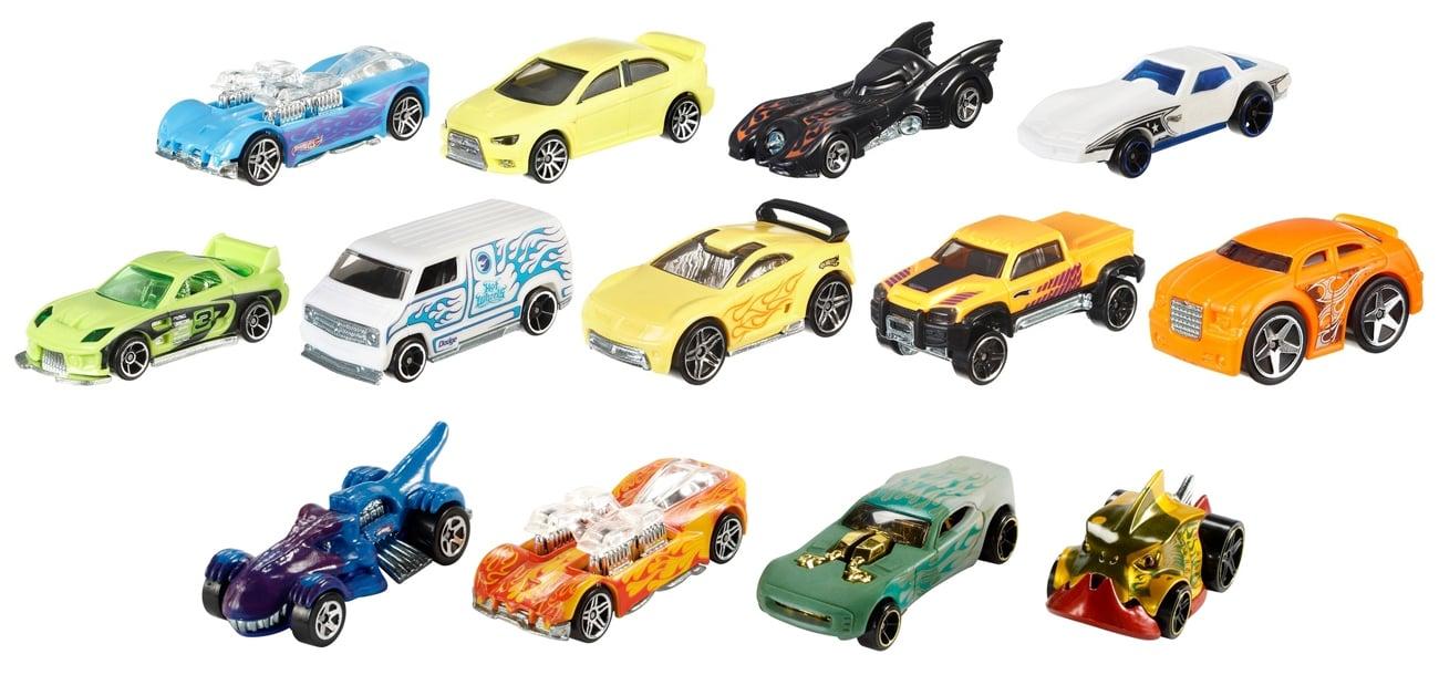 Mattel Hot Wheels Samochodzik zmieniający kolor