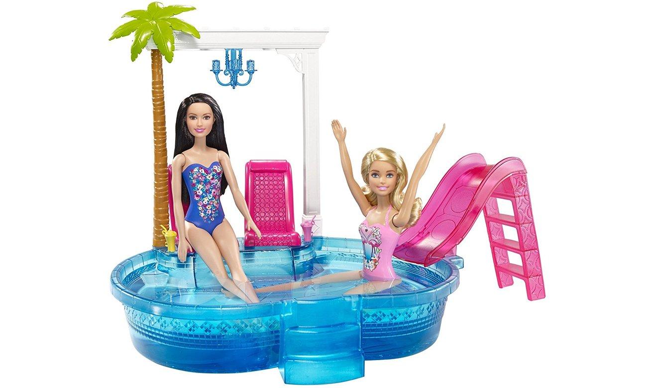 Mattel Barbie Basen ze zjeżdżalnią