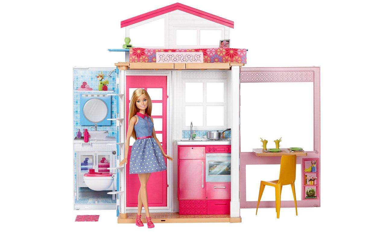 Barbie z domkiem DVV48