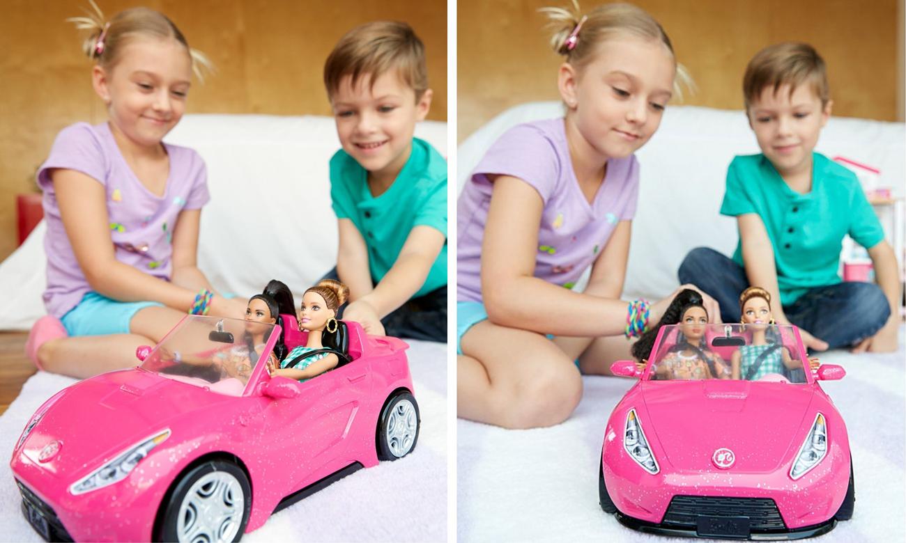 Mattel Barbie Różowy Kabriolet