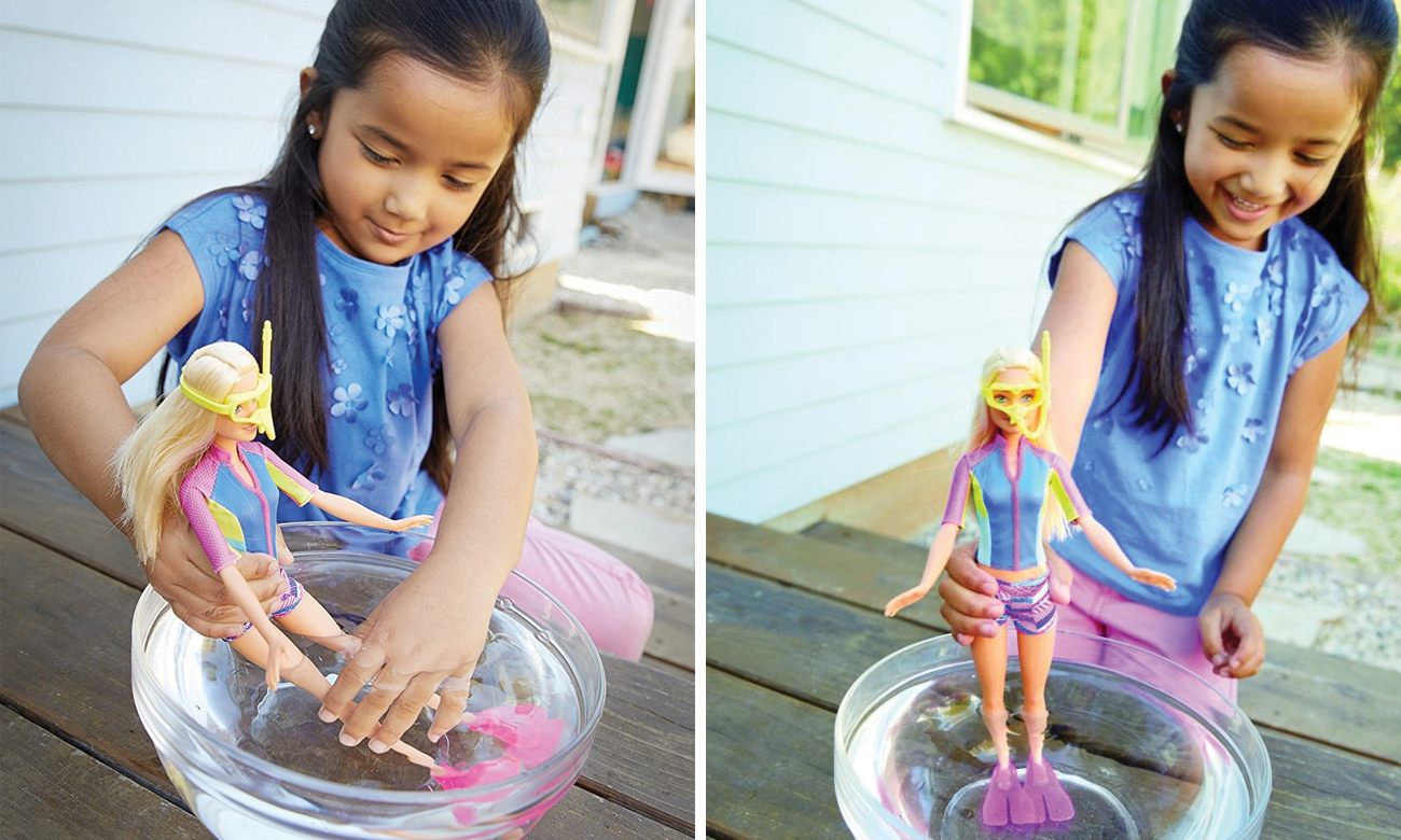 Mattel Barbie Nurkowanie z delfinem