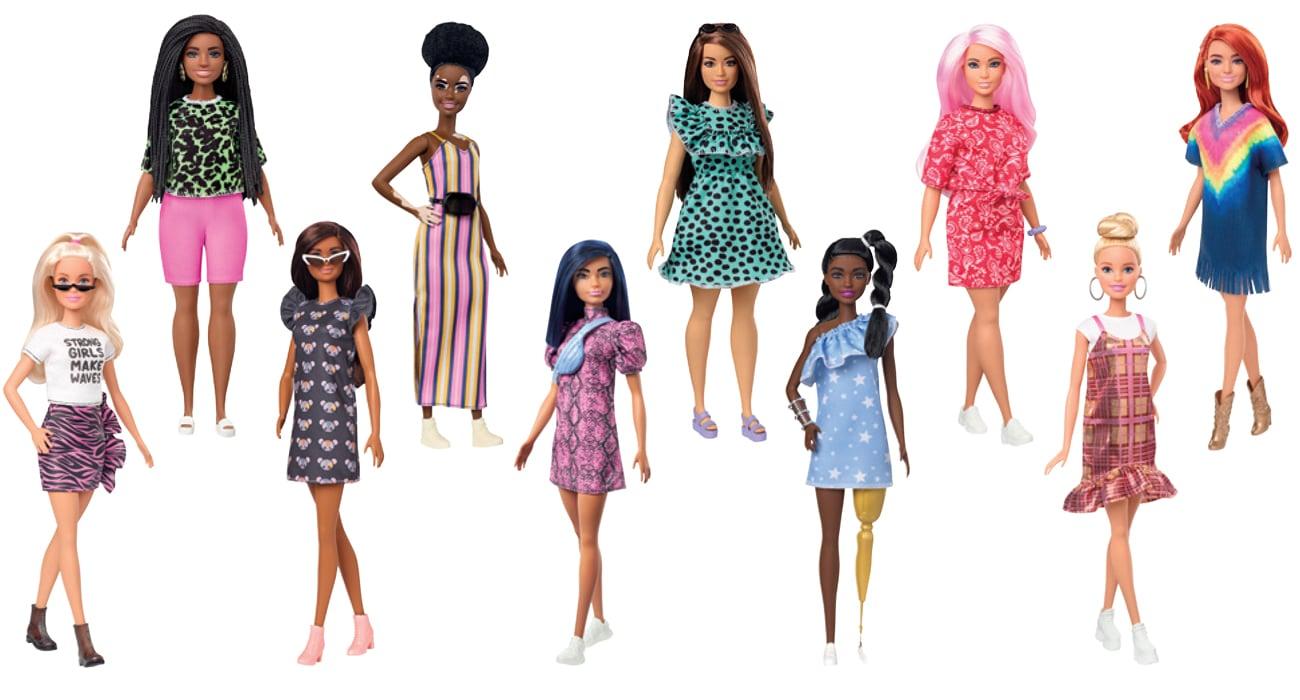 Mattel Barbie Fashionistas Lalki modne przyjaciółki losowe