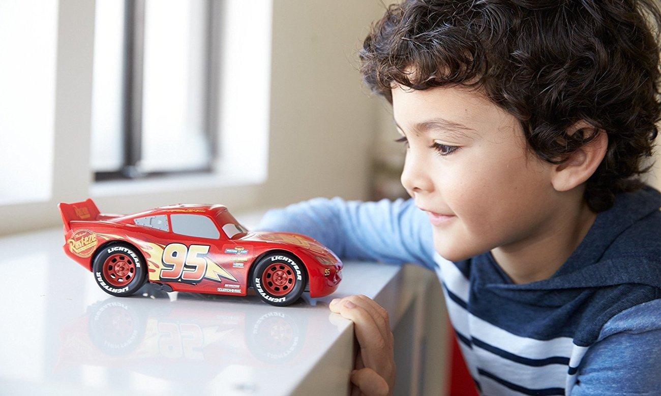 Mattel Disney Cars 3 Światło + Dźwięk Lightning McQueen