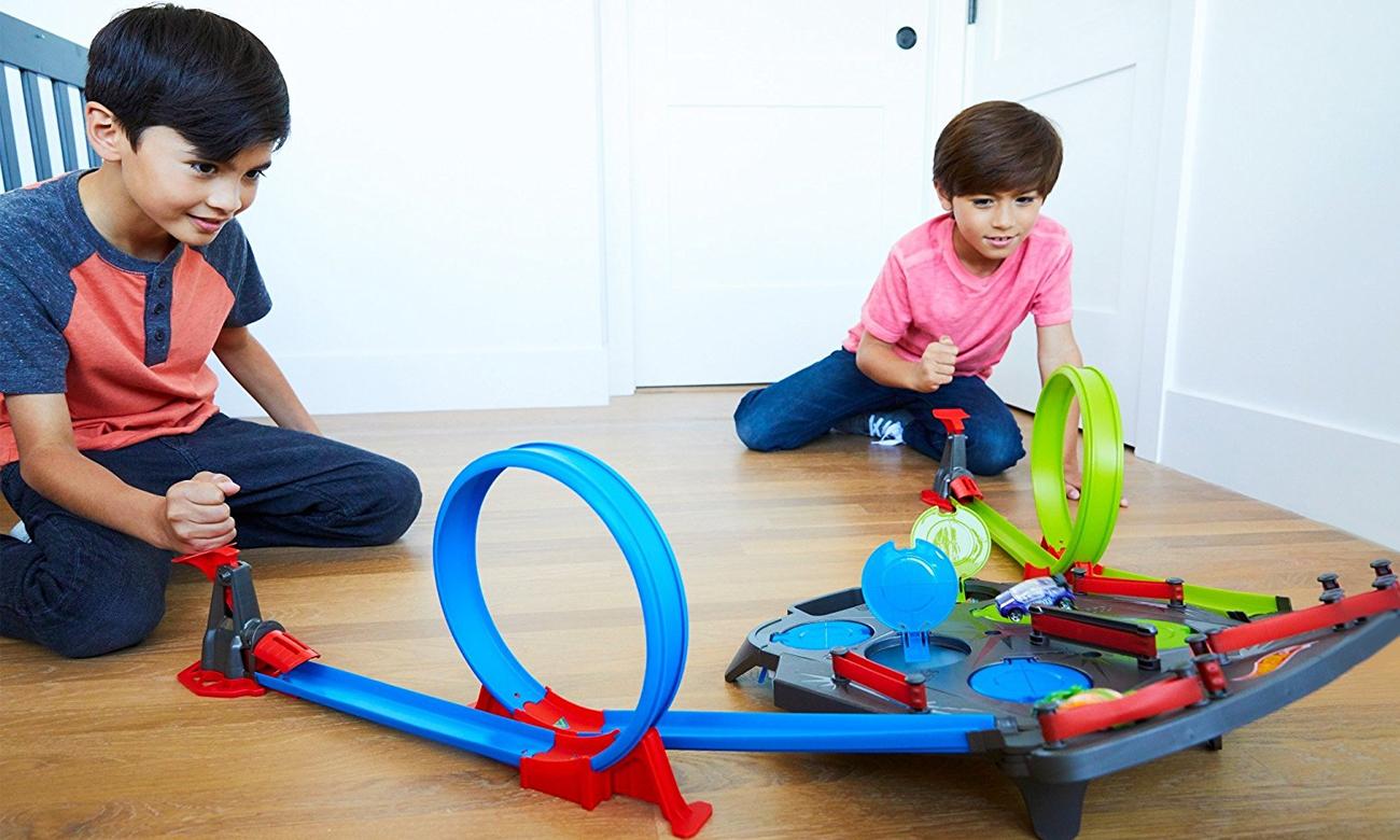 Mattel Hot Wheels Wyścig do celu zestaw