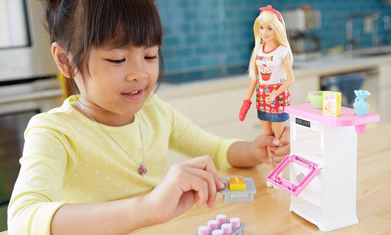 Mattel Barbie Domowe Wypieki Zestaw z lalką