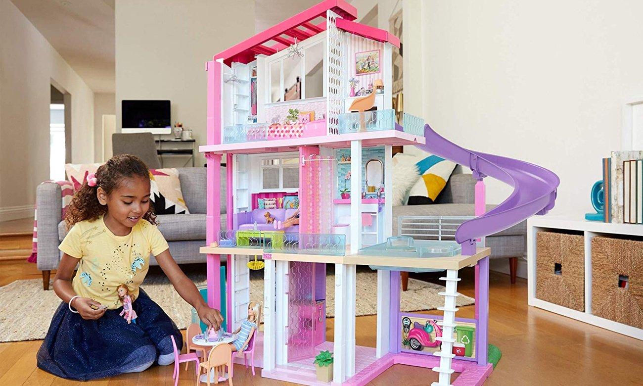 Mattel Barbie Idealny domek dla lalek - światła i dźwięki