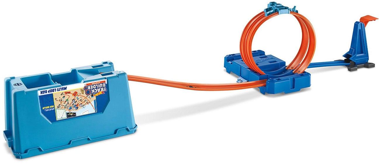 Zestaw Kaskaderskie pętle niebieskie mattel FLK90
