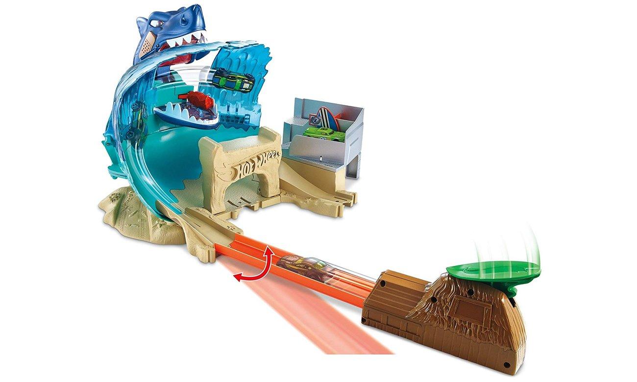 Hot Wheels Atak Rekina Pojazdy Tory I Garaże Sklep Internetowy