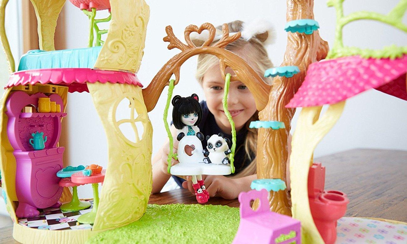 Mattel Enchantimals Zestaw Leśny Domek