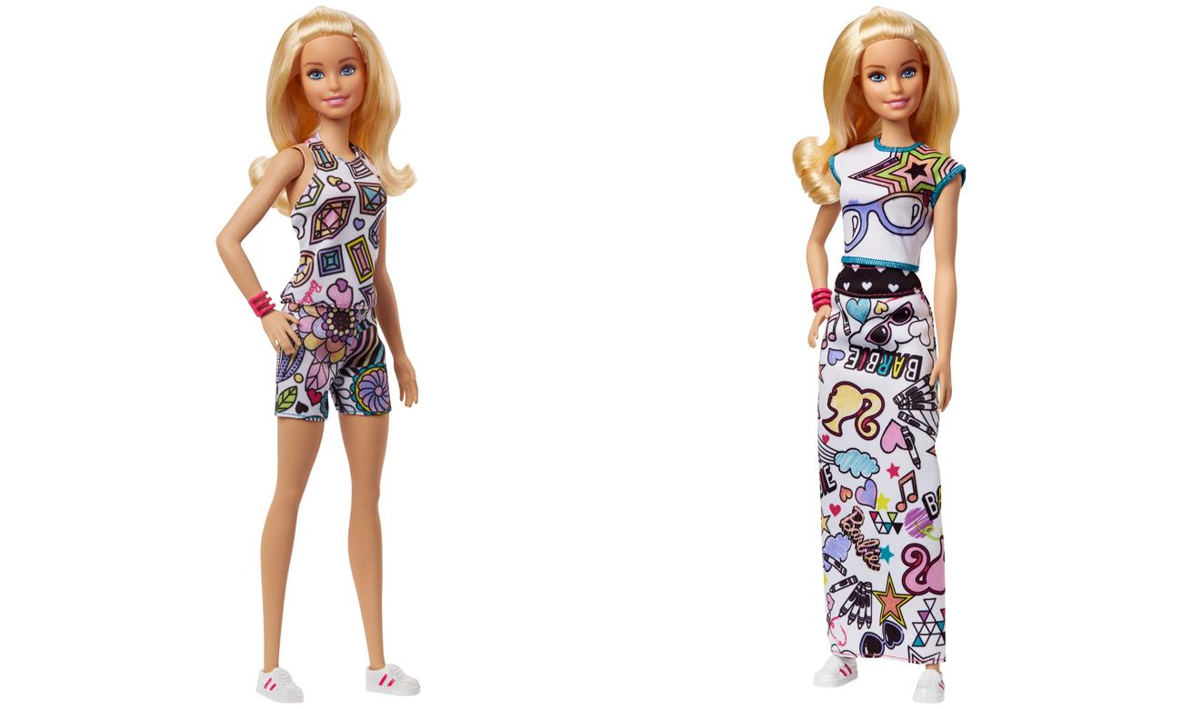 d3ae48e23 Barbie Crayola Zestaw Kolorowa moda z lalką - Lalki i akcesoria ...
