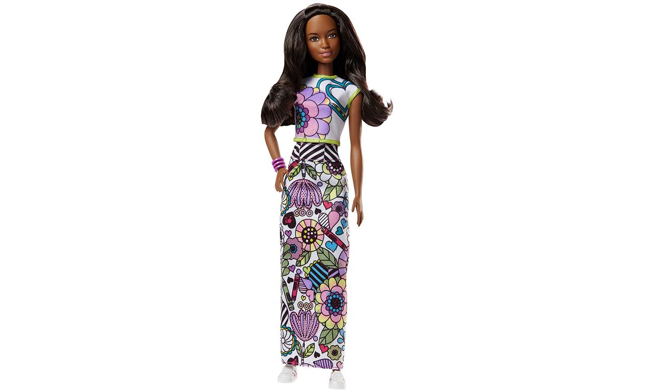 7622f6852 Barbie Crayola lalka Kolorowa moda Nikki - Lalki i akcesoria - Sklep ...