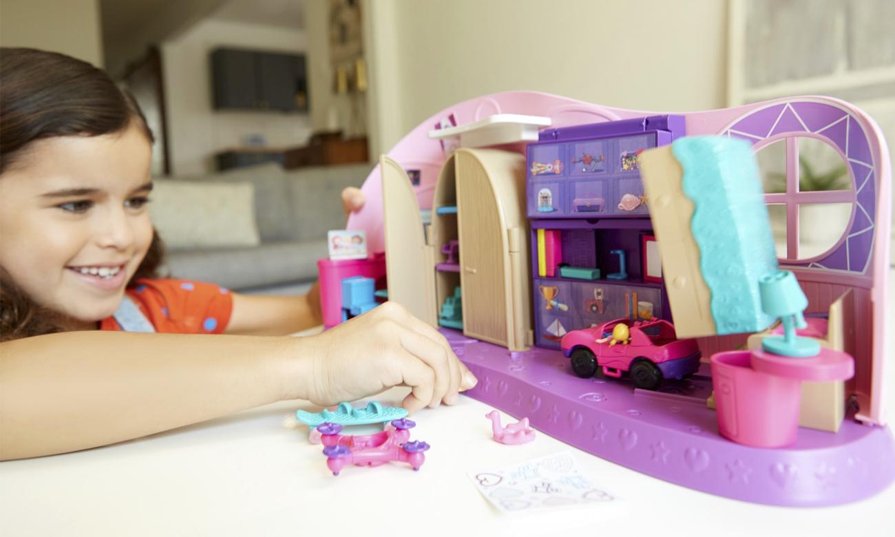 Mattel Polly Pocket Magiczny Pokoik