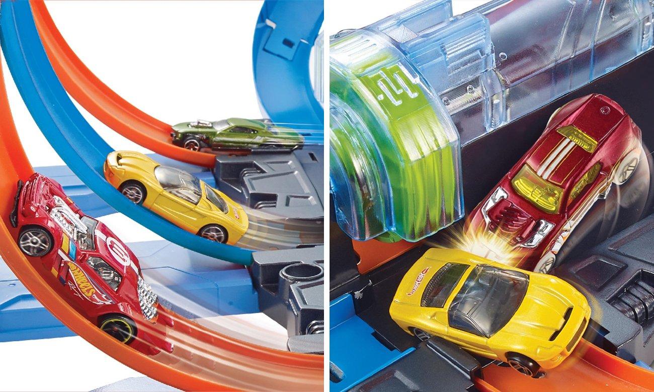 zestaw hot wheels rekin
