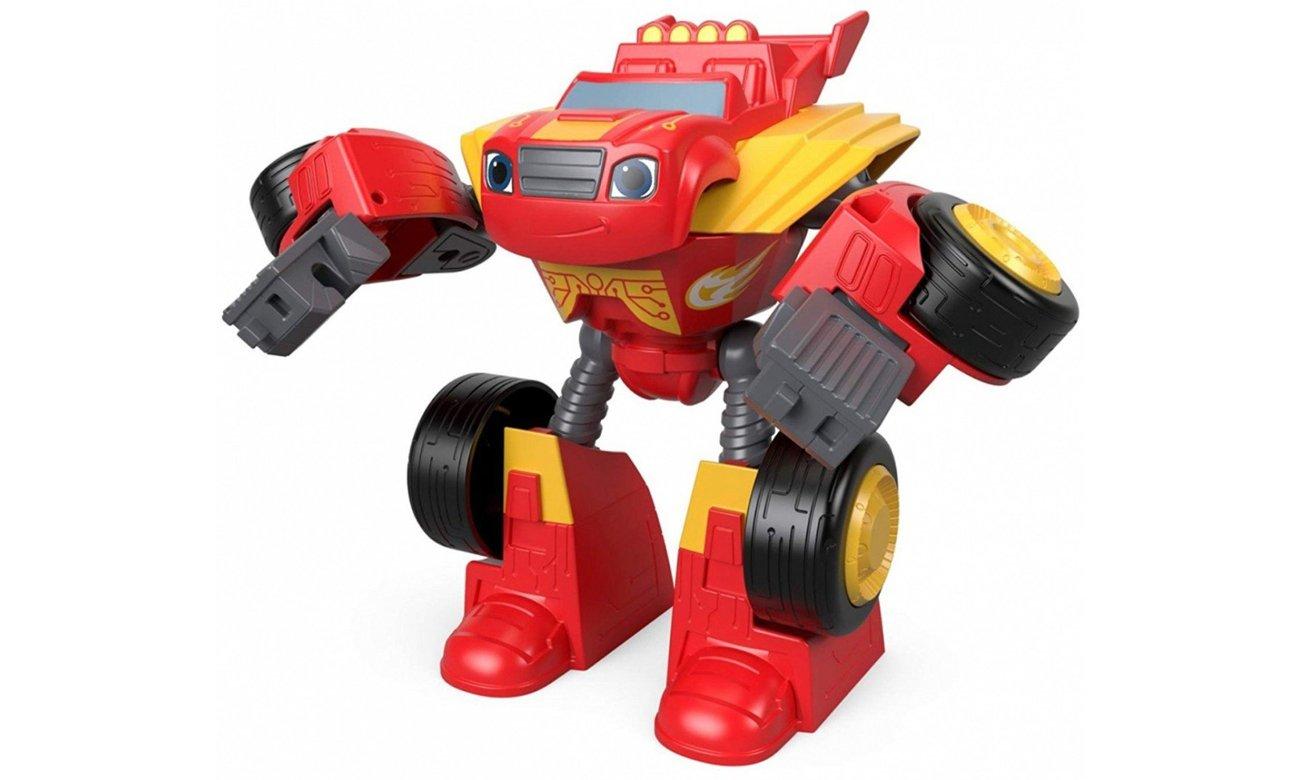 Mattel Pojazd-Robot Blaze