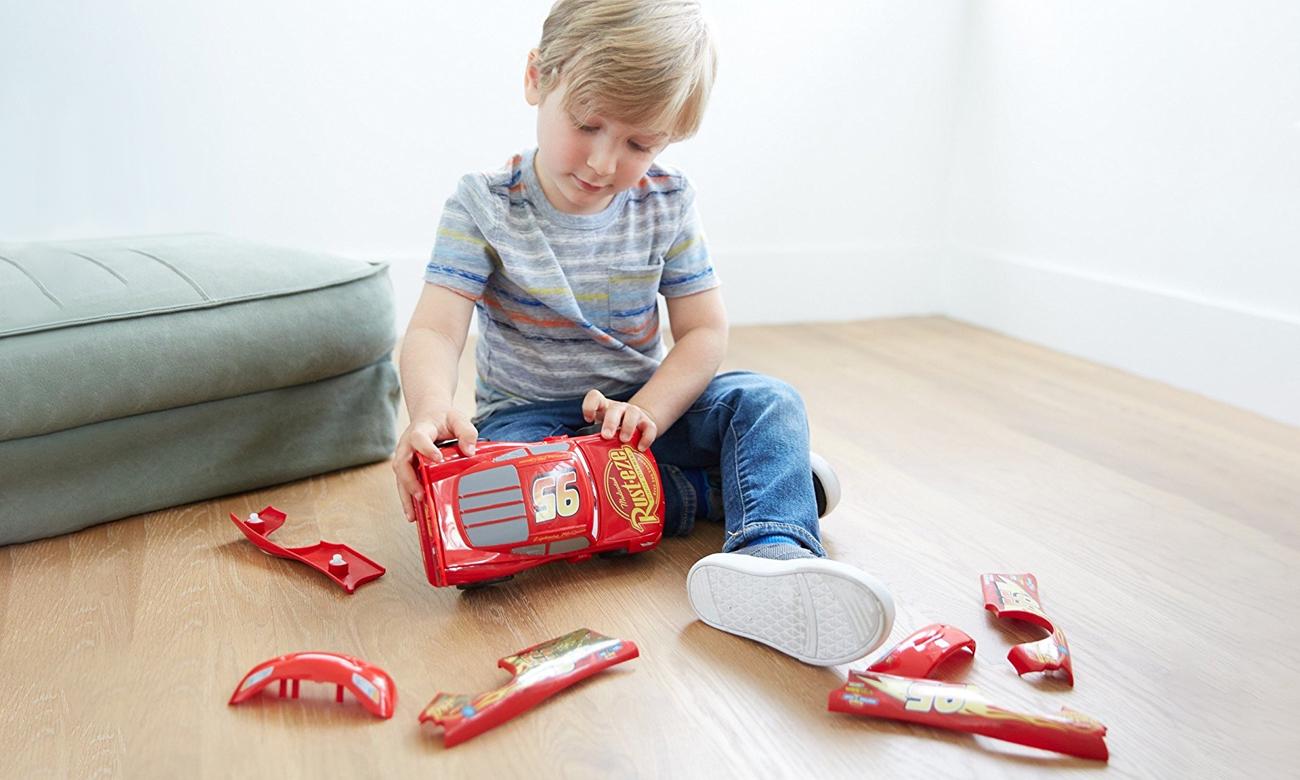 Mattel Cars Zygzak McQueen do modyfikacji
