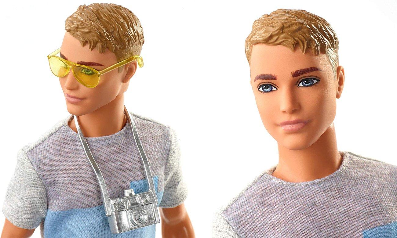 Mattel Barbie Chelsea w podróży Lalka