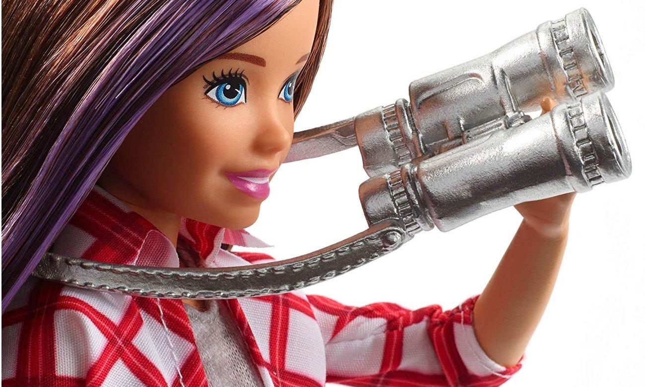 Mattel Barbie Skipper w podróży Lalka