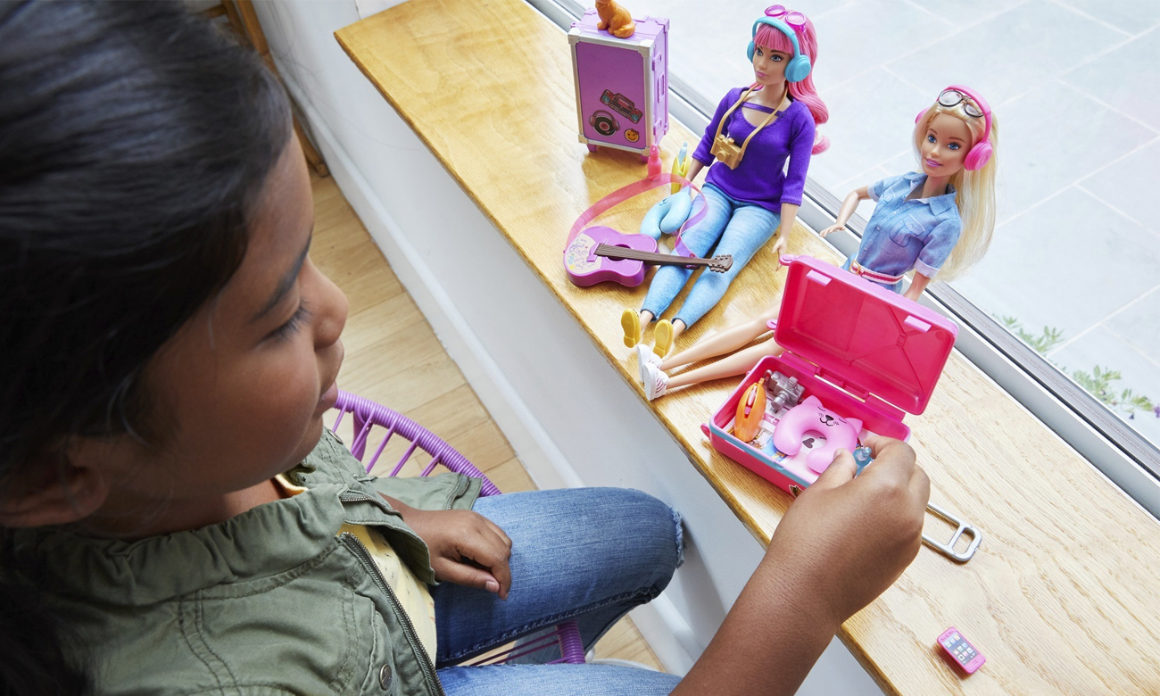 Mattel Barbie w podróży Lalka