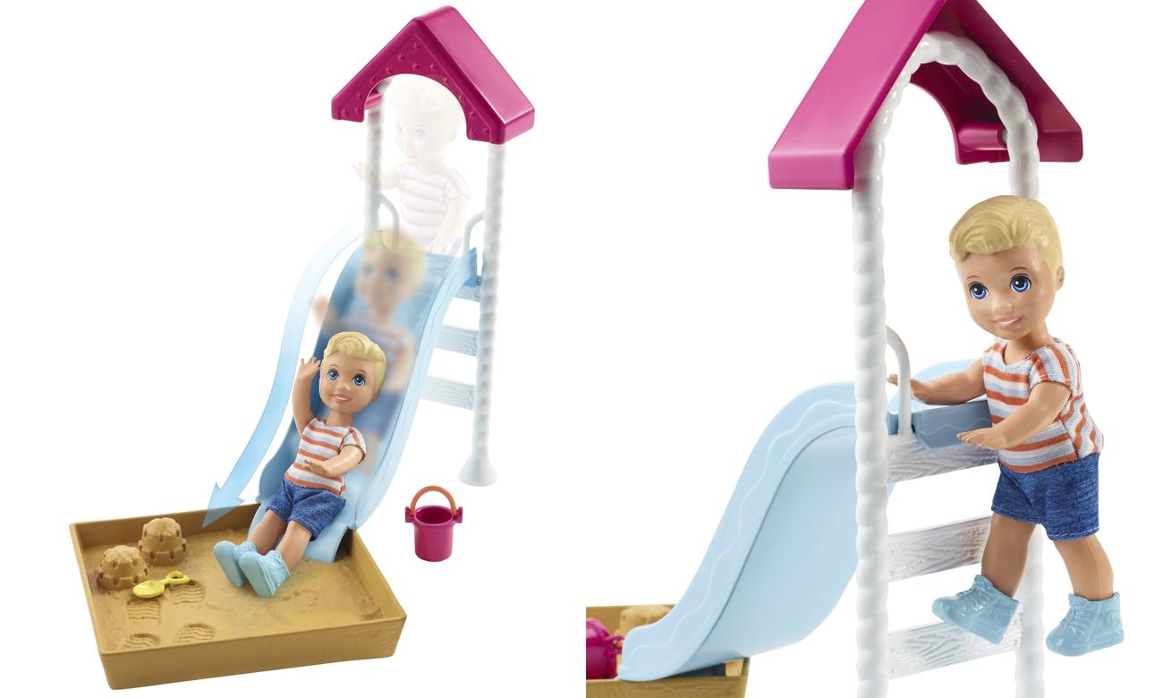 Mattel Barbie Skipper Akcesoria Spacerowe Piaskownica