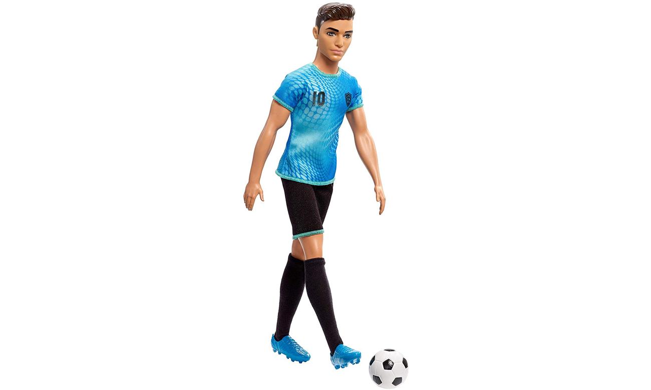 Mattel Barbie Ken Kariera Piłkarz