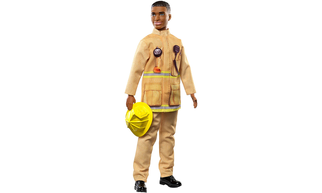 Mattel Barbie Ken Kariera Strażak