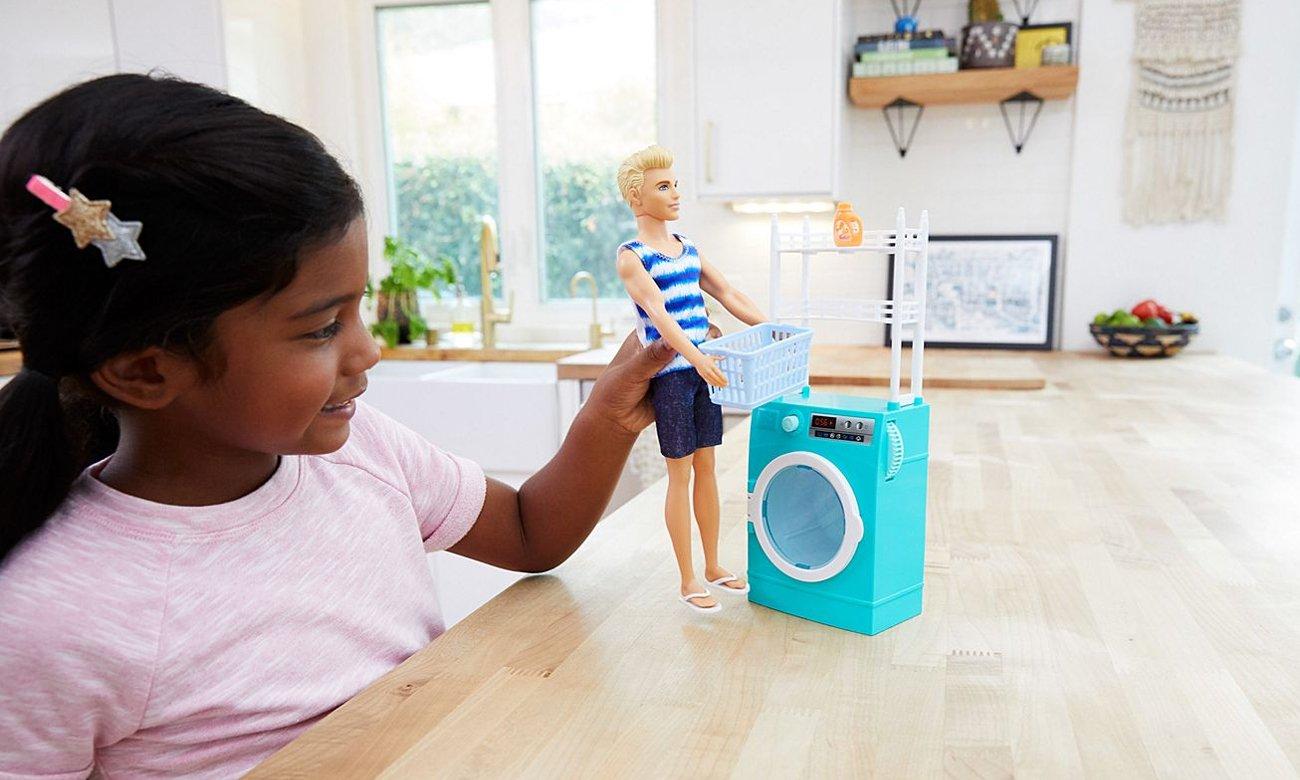 Mattel Barbie Zestaw Ken w pralni