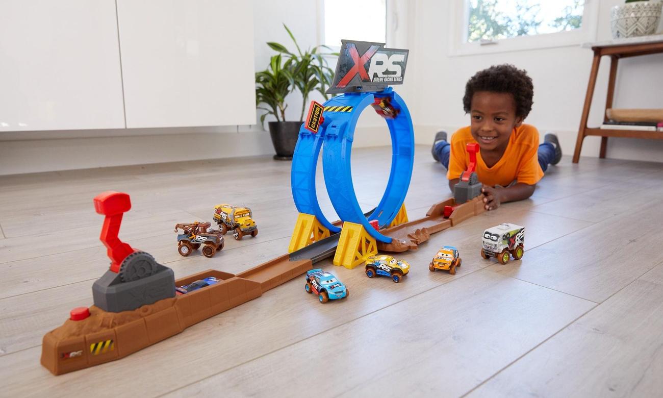 Mattel Disney Cars Wyzwanie Szalone Kraksy