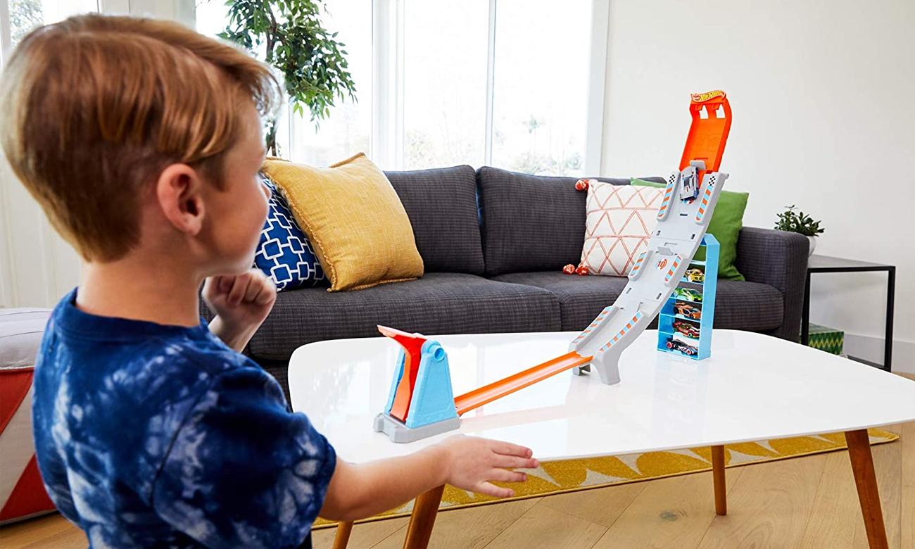 Mattel Hot Wheels Rywalizacja mistrzów Sztuczki Kaskaderskie